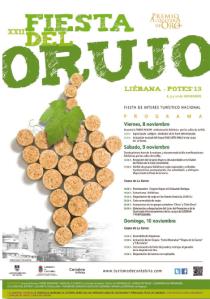 Programa Fiesta del Orujo 2013