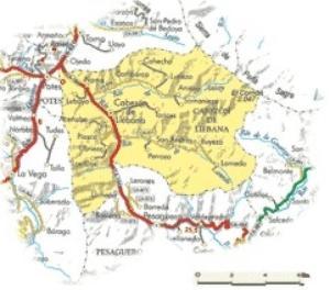Mapa De Cabezón De Liébana.
