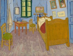 VanGogh--Bedroom--1889--MuseedOrsayParis--1400